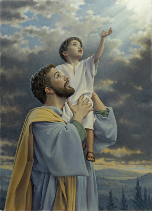 Heavenly Father by Kathy Lawrence