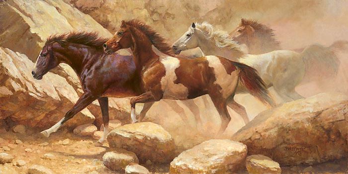 Into Blanco Canyon by Bonnie Marris