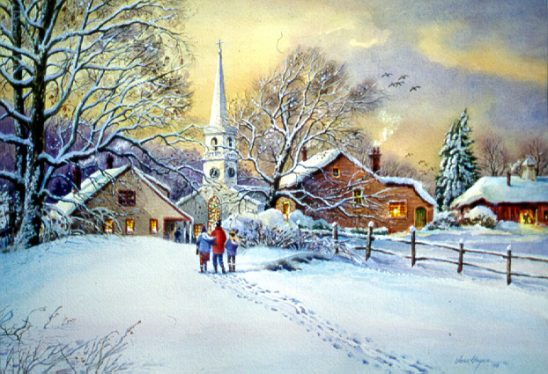 Christmas Service by Jess Hager