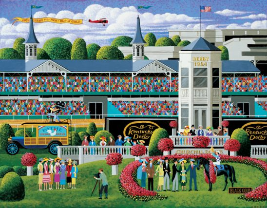 E125 Kentucky Derby Winner's Circle by Heronim