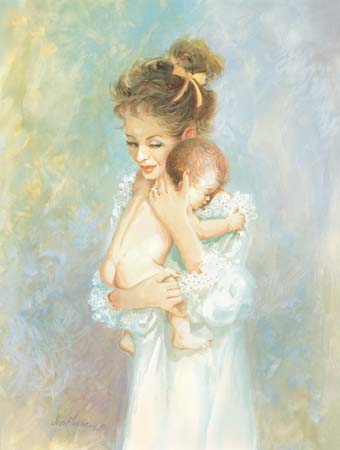 Mother and Baby by Jess Hager