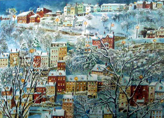 One Wintry Night by Jess Hager
