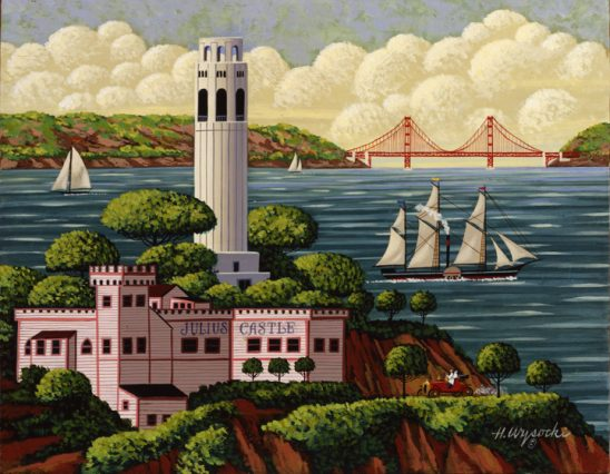 SF101 Coit Tower by Heronim