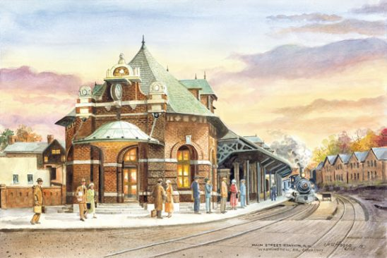 Train Station by Jess Hager
