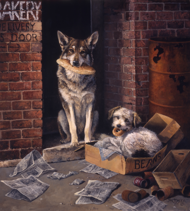Alley Dogs by Bonnie Marris