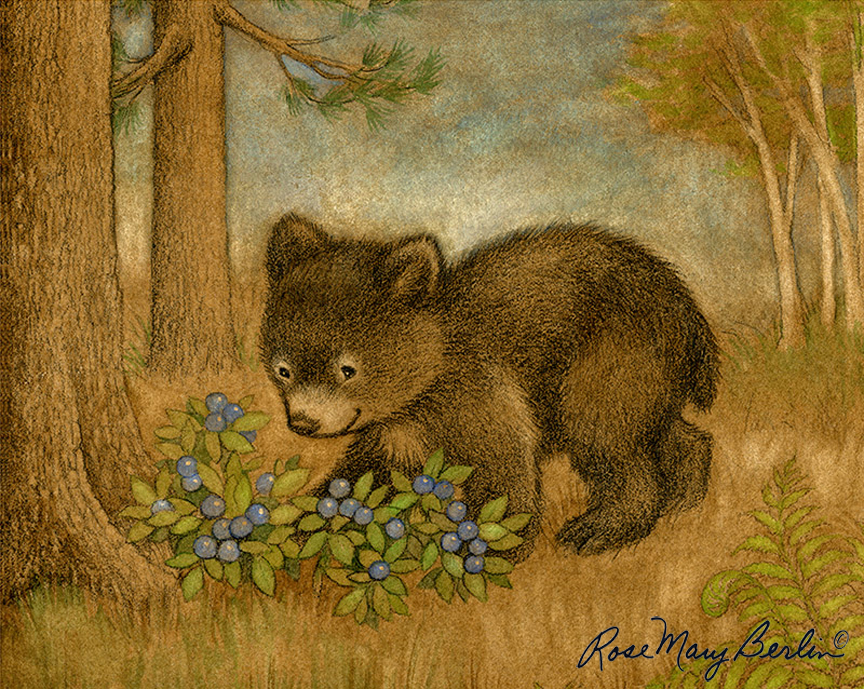 Bear Berry – no border by Rose Mary Berlin