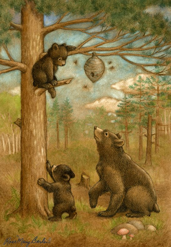 Bear Family by Rose Mary Berlin