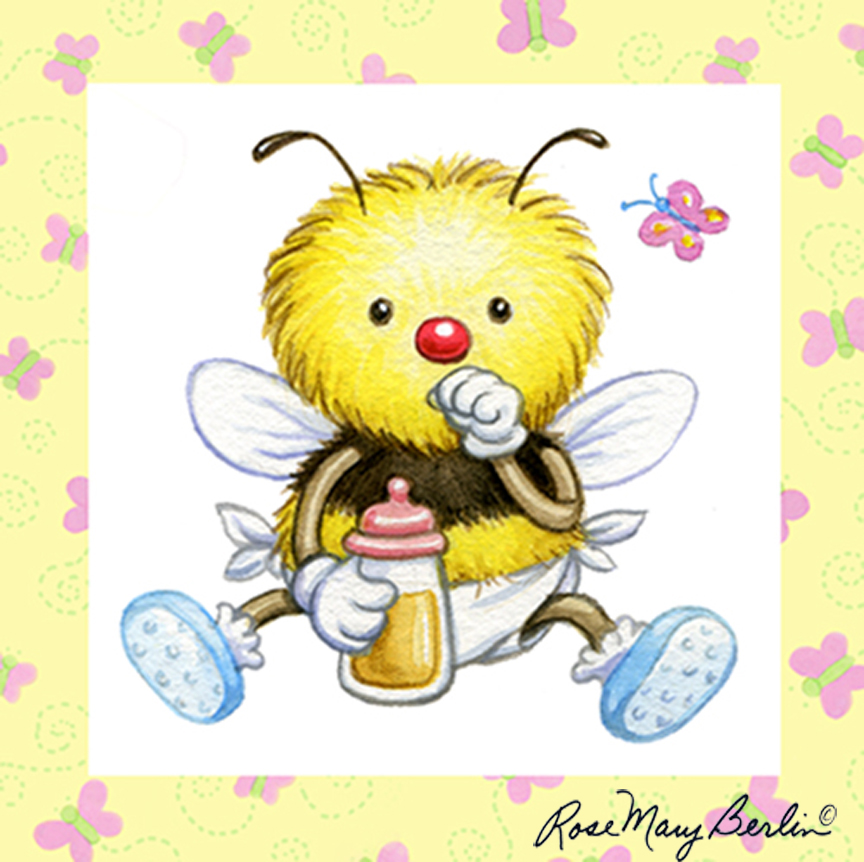 Bee – Baby Bee by Rose Mary Berlin