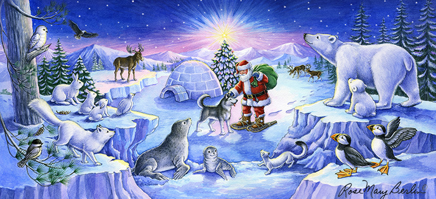 Christmas – Arctic Friends Christmas by Rose Mary Berlin
