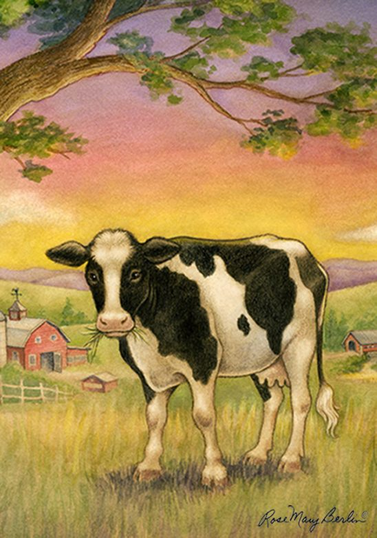 Farm – Cow by Rose Mary Berlin