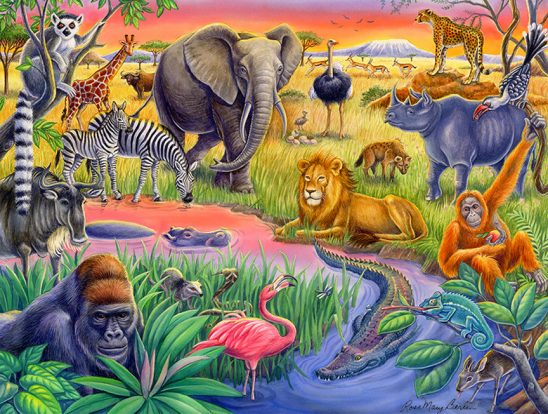 Wildlife – African Animals by Rose Mary Berlin