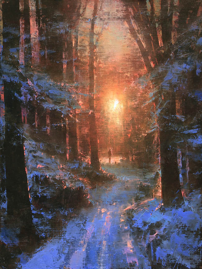 Winter's Embrace by Brent Cotton
