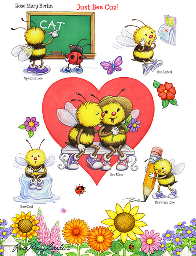 Bee – Just Bee Love by Rose Mary Berlin