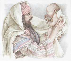 Christmas – Gilbert – Joseph with Baby Jesus GXB08899 © Wind River Studios
