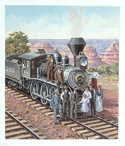 Trains – Thorpe Arizona Locomotive GXB14859 © Wind River Studios