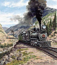 Trains – Thorpe Colorado Locomotive GXB14949 © Wind River Studios