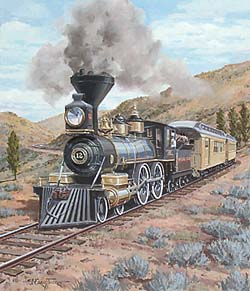 Trains – Thorpe Nevada Locomotive GXB14907 © Wind River Studios