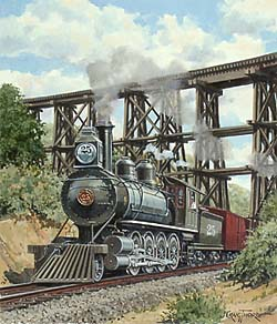 Trains – Thorpe Tennessee Locomotive GXB15044 © Wind River Studios