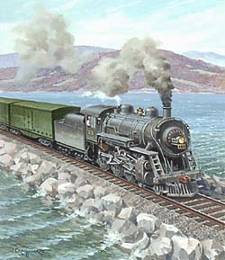 Trains – Thorpe Vermont Locomotive GXB14913 © Wind River Studios