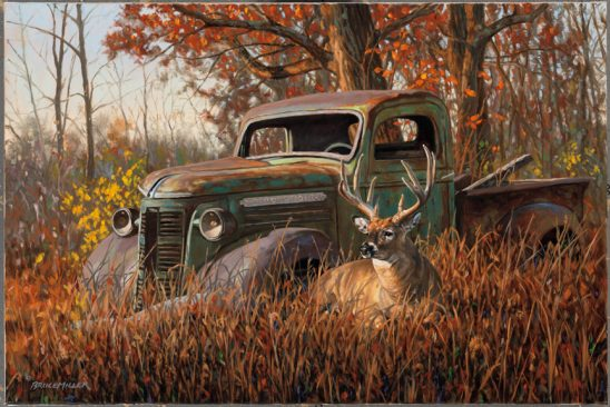 A Buck and a Truck by Bruce Miller