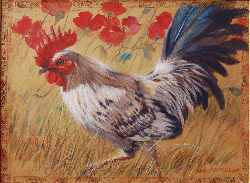 Bantam in the Poppies by Amy Brackenbury
