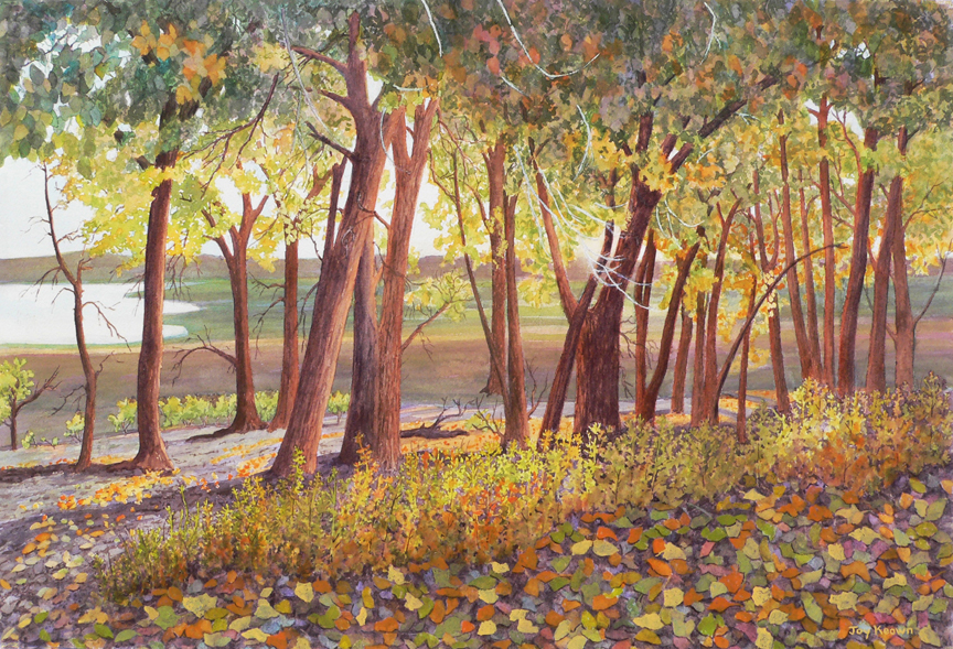 Autumn Leaves by Joy Keown