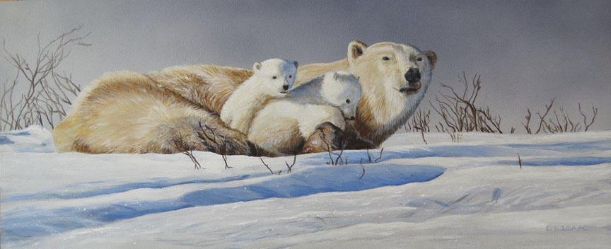 Close to Mom by Terry Isaac