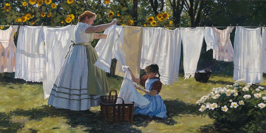 Wash Day by Heide Presse