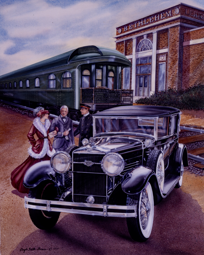 Cars – Arriving Home by Angela Trotta Thomas