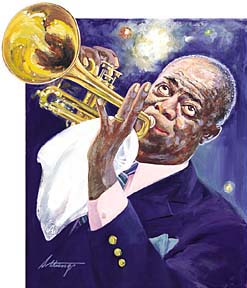 GXB15147 Louis Armstrong by George Sottung © Wind River Studios
