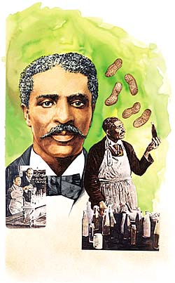 GXB15946 1910's – George Washington Carver by Paul and Chris Calle © Wind River Studios