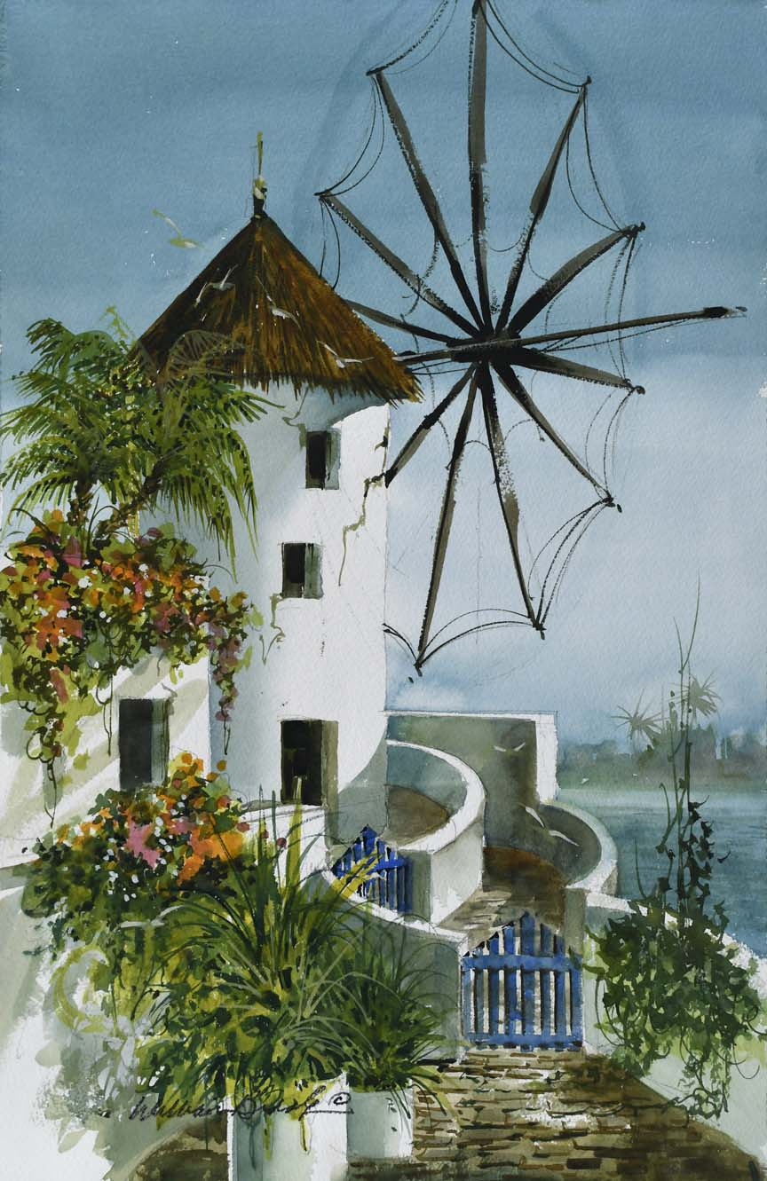 A Bit of Greece 7101 by William Biddle