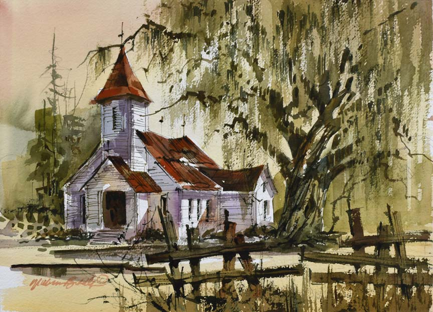 Abandoned School House 6833 by William Biddle