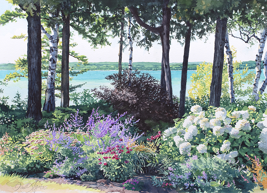 Bay View Garden by Stan Myers