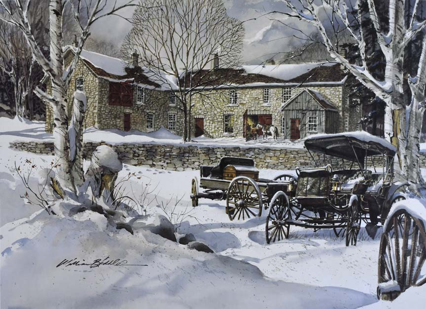 Carriage Works 6897 by William Biddle