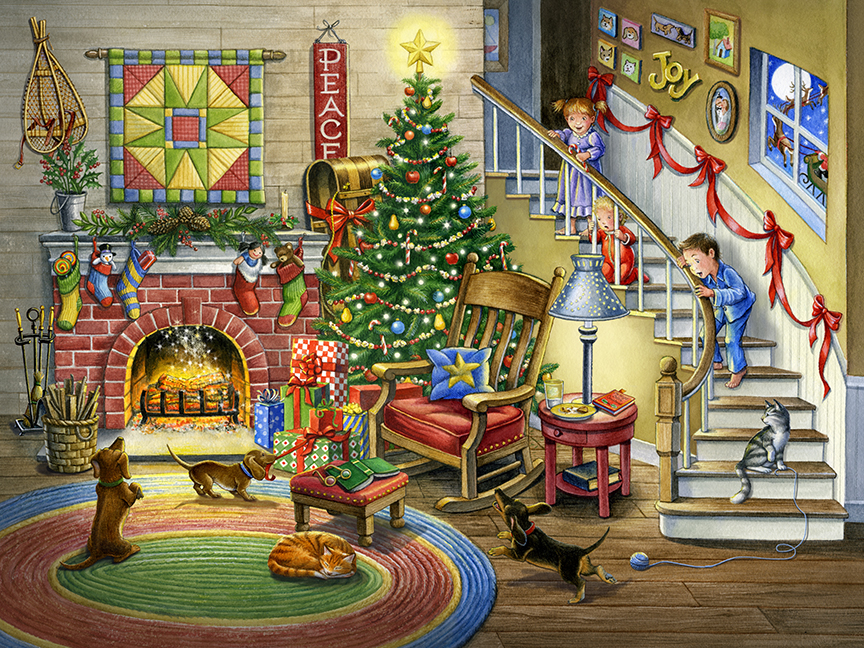 Christmas Magic by Rose Mary Berlin