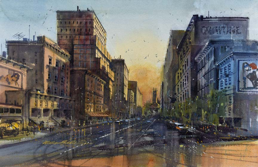 City Center 7104 by William Biddle