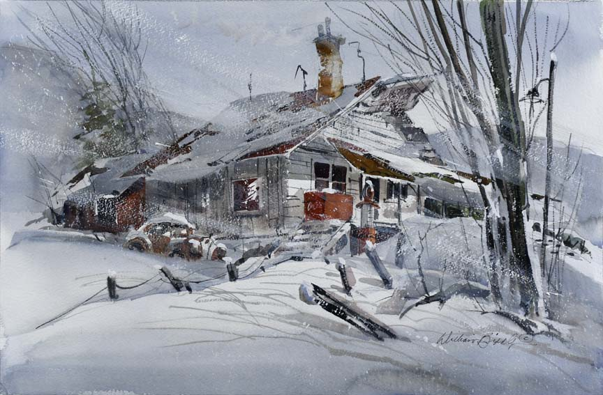 Cold in the Snow 7132 by William Biddle