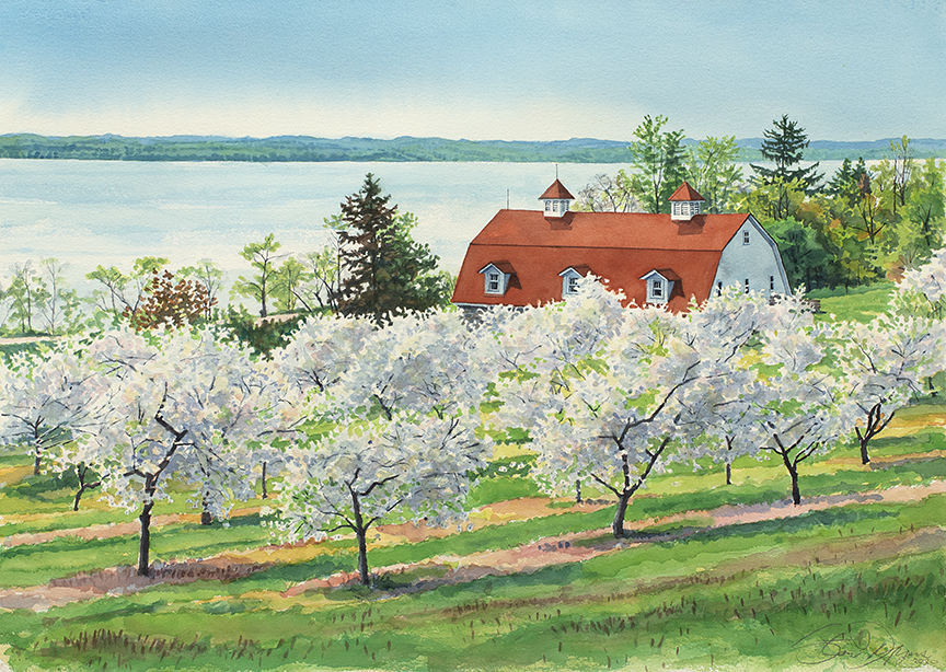 Grand Traverse Penn Orchard by Stan Myers