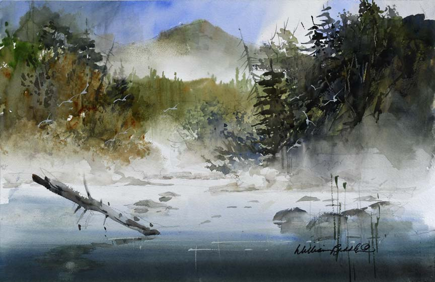 Misty Morning 7111 by William Biddle
