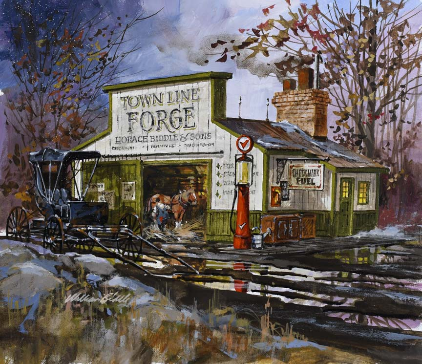 Moving Forward 6806 by William Biddle