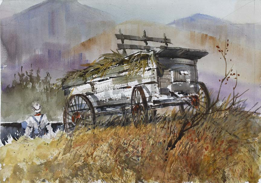 Retired 6734 by William Biddle