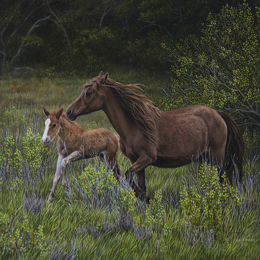 Running Free With Mom by Karla Mann