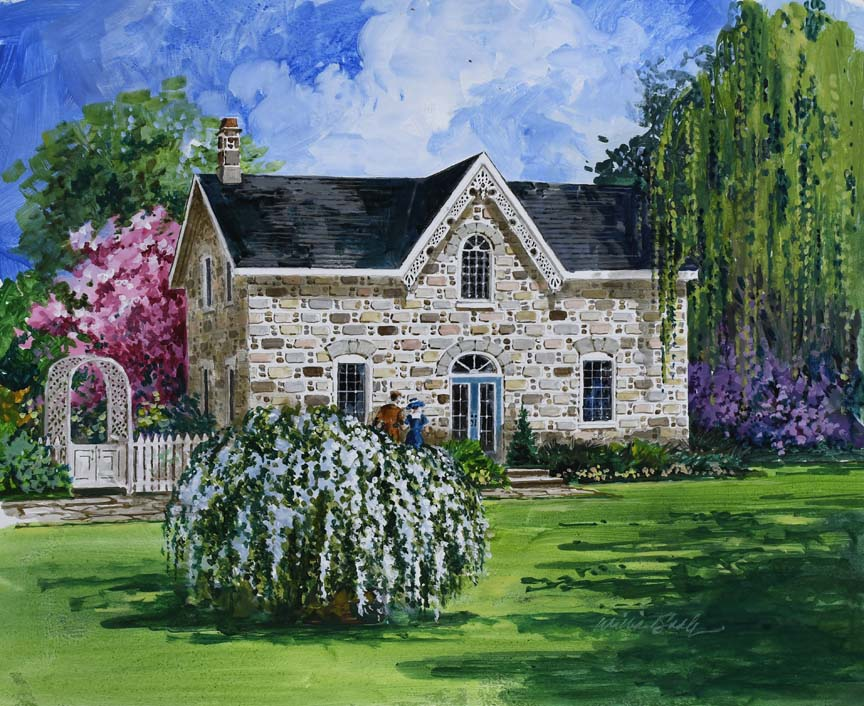 Spring in Bloom 6812 by William Biddle