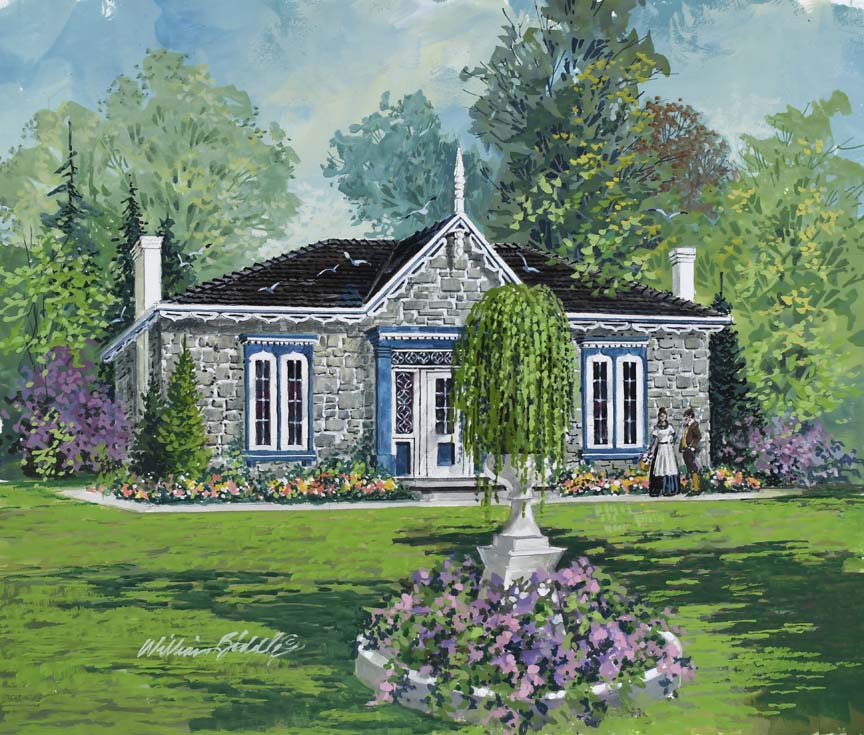 Stone Cottage 6779 by William Biddle