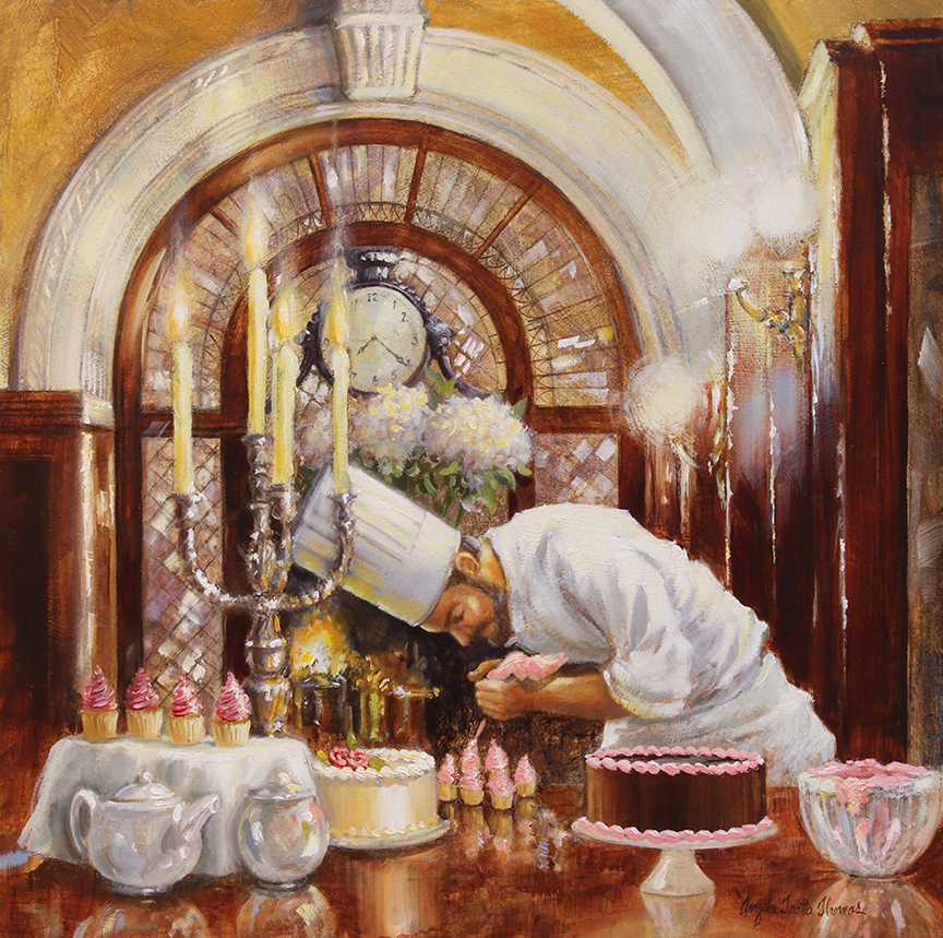 The Pastry Chef by Angela Trotta Thomas