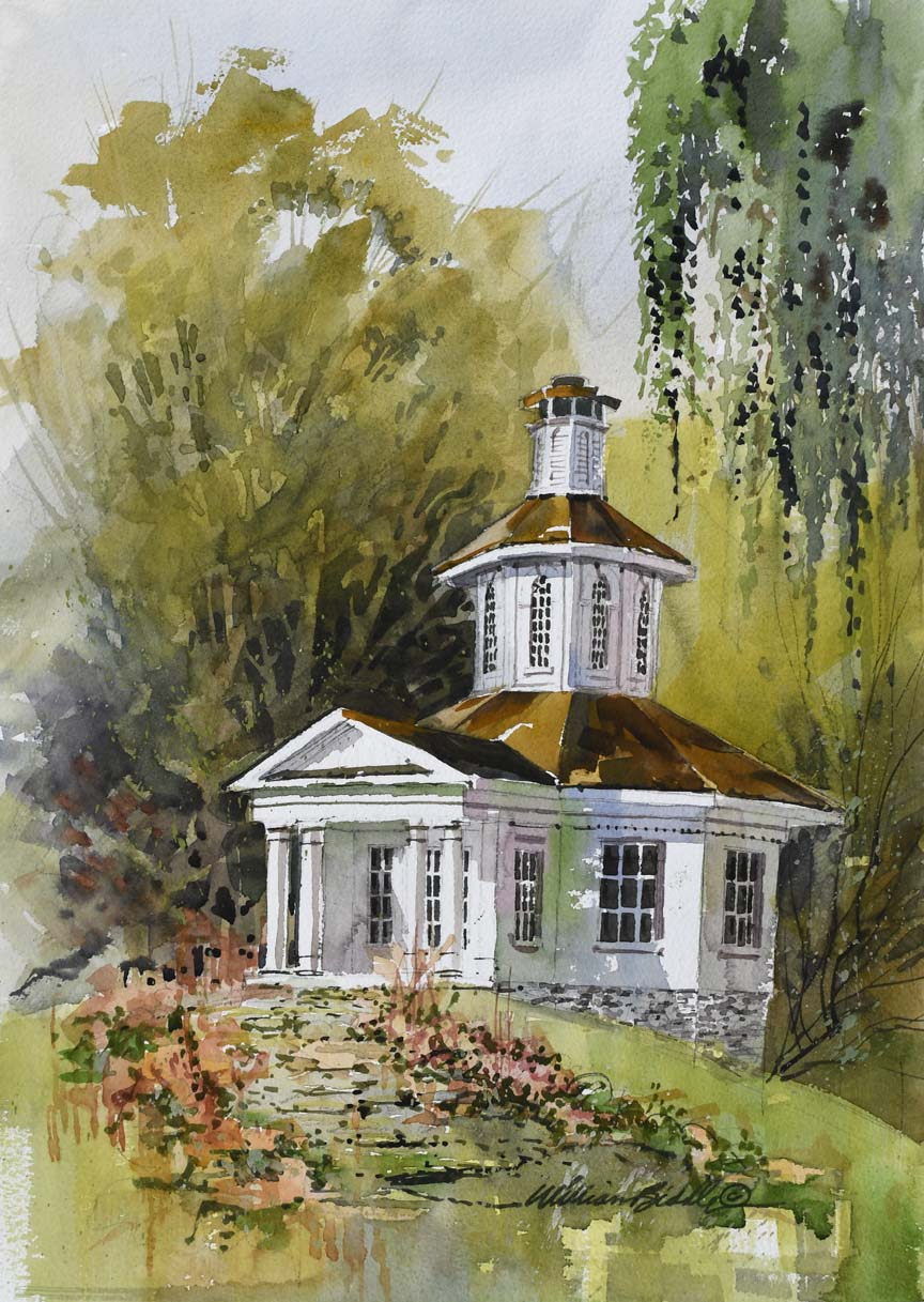 The Wedding Chapel 6830 by William Biddle