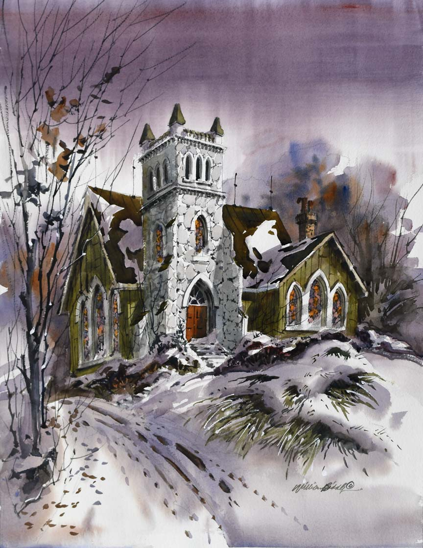 The Winter Church 7062 by William Biddle