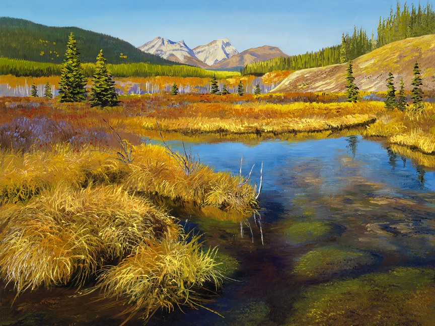 Autumn Marsh by Andrew Kiss
