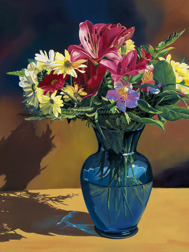 Blue Vase by Andrew Kiss
